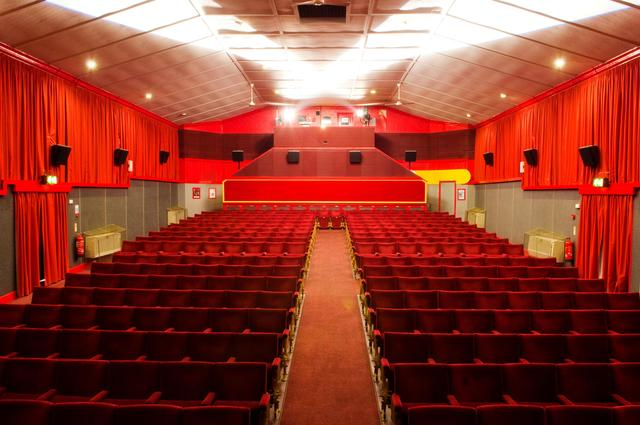Leiston Film Theatre auditorium 2010
