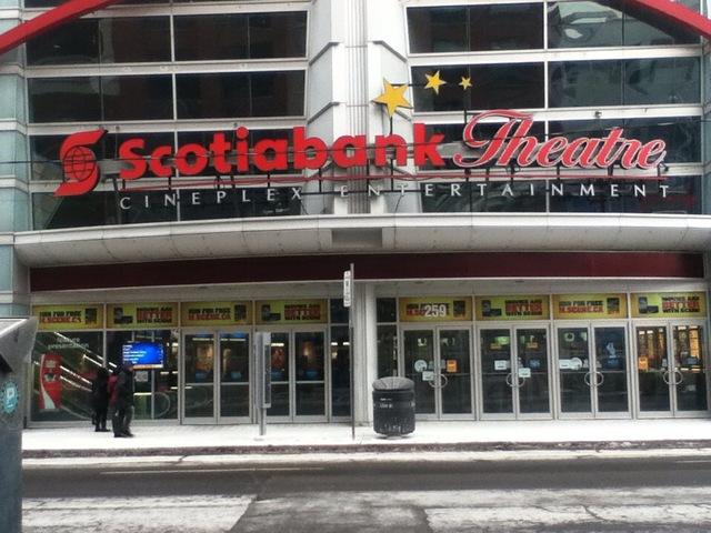 Scotiabank Theatre Toronto 2014