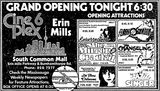 March 12th, 1981 grand opening ad