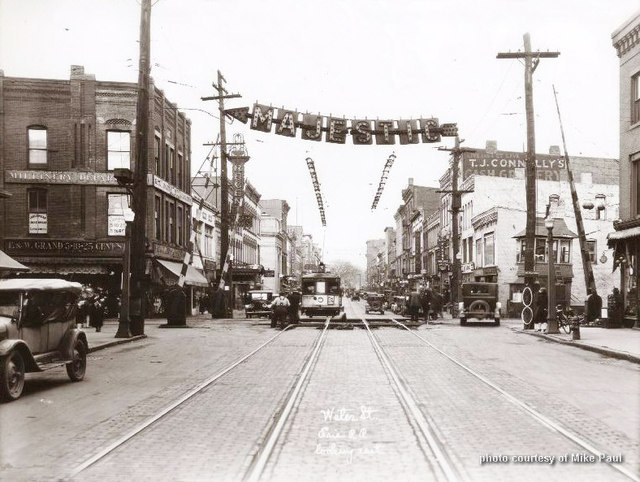 Water St. & Railroad Avenue, Elmira, NY