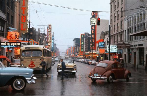 Circa 1957 photo courtesy of Frank M. Vizza.