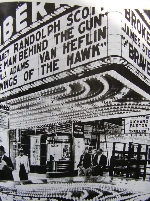 1953 Liberty marquee
