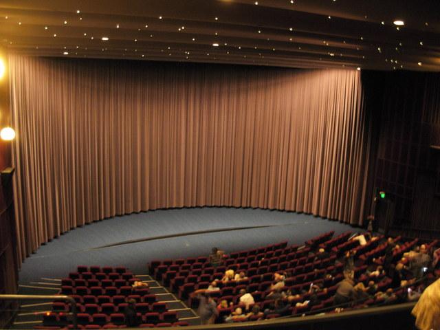 9-19-13 Cinerama screen for 70mm film festival