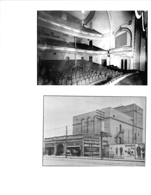 Lower photo -West Theatre