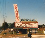 Gwinnett Drive-In's Newer Marquee From Late 1979...