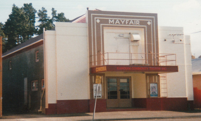 Kaikoria Mayfair Cinema. - Photo B Knewstubb