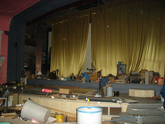 Calumet Theater Stage