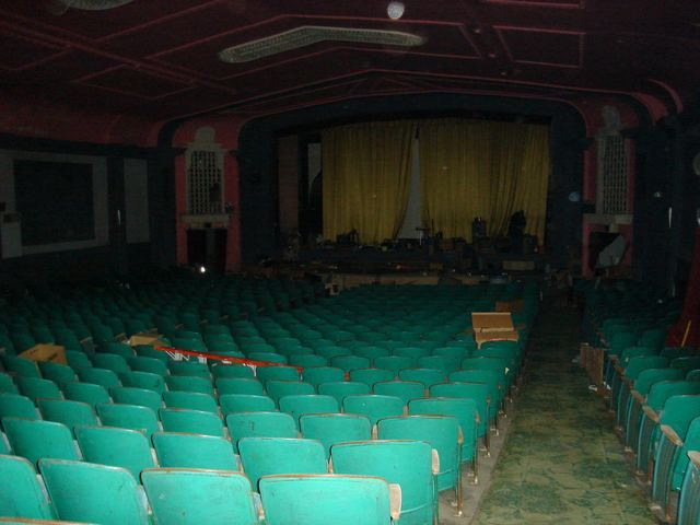 Calumet Theater Seats