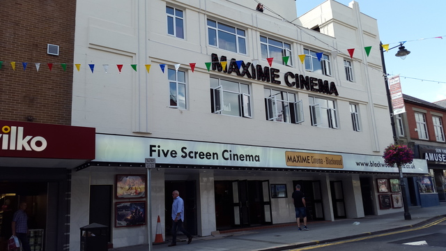 MAXIME 5 SCREEN CINEMA  HIGH ST BLACKWOOD