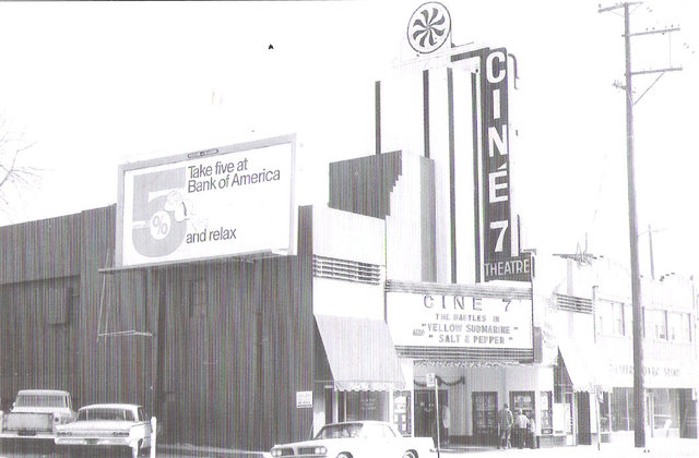 Old Cine 7 Theater