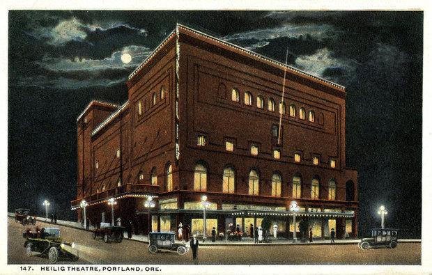 HEILIG  (MAYFAIR, FOX) Theatre; Portland, Oregon.