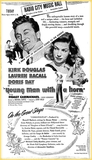 Lauren Bacall's first movie to at RCMH
