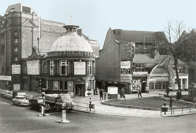 Gaumont and Eros Cinema in 1959