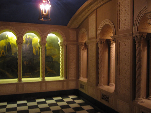Chicago Theatre - Men's Lounge (Basement)