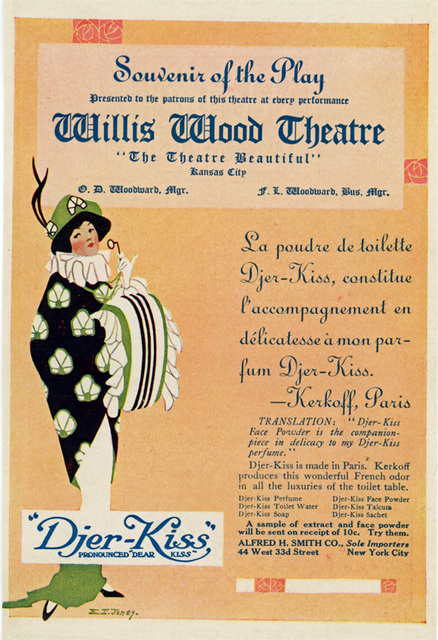 Handbill Willis Wood Theatre