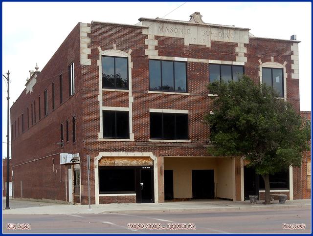 Temple Cinema ... Mangum Oklahoma