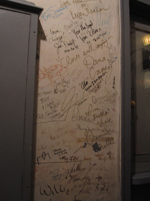 Chicago Theatre - Performer & vrew autographs