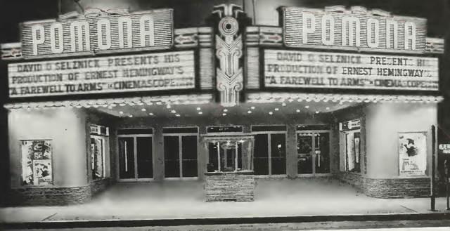 Pomono Fox Theatre 1958