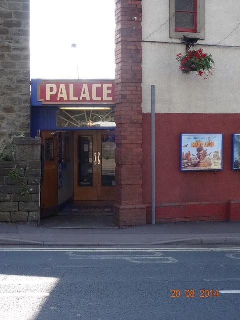 Entrance to Palace Cinema
