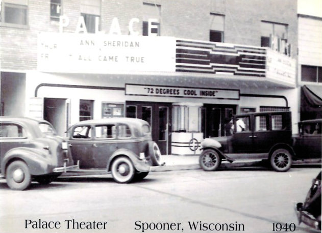 PALACE Theatre; Spooner, Wisconsin.