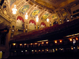 Chicago Theatre - Auditorium right sidewall from stage
