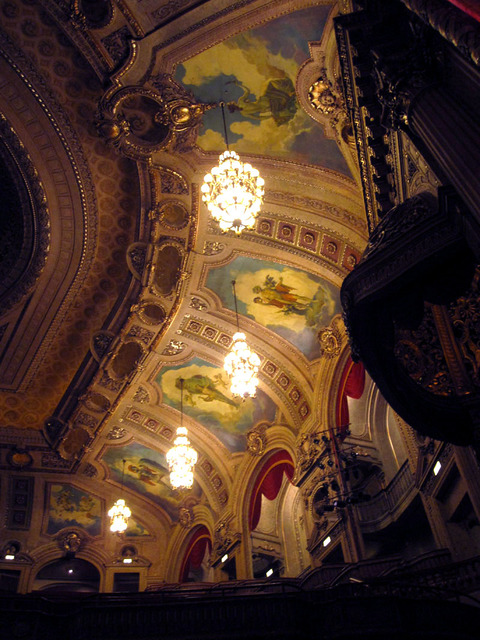 Chicago Theatre - Upper left auditorium sidewall