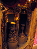 Chicago Theatre - Detail - left organ screen