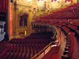 Chicago Theatre - Auditorium from left of balcony