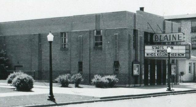 BLAINE Theatre; Boscobel, Wisconsin.