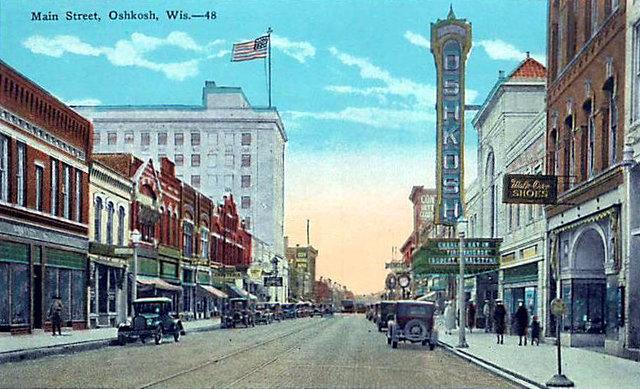 OSHKOSH Theatre; Oshkosh, Wisconsin.