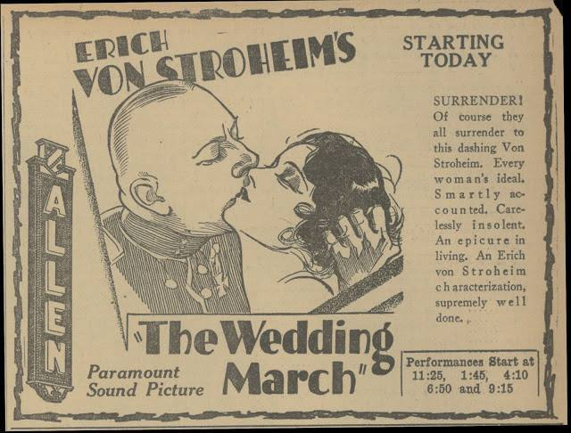 1928 print ad courtesy of Mike Flores.