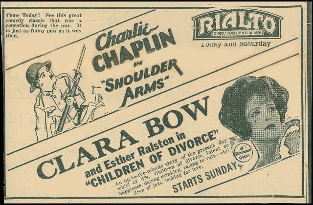 1927 print ad courtesy of Mike Flores.