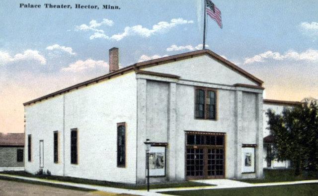PALACE Theatre; Hector, Minnesota.