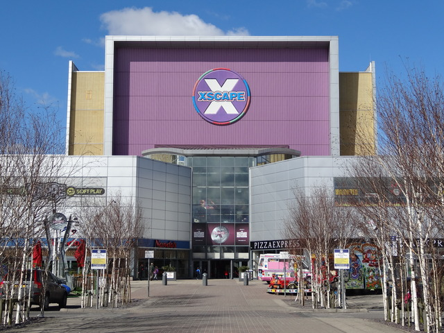 The frontage of Xscape