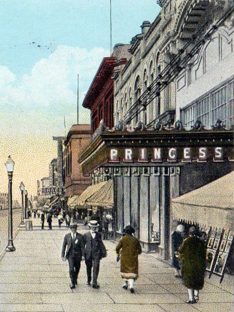 PRINCESS Theatre; Superior, Wisconsin.