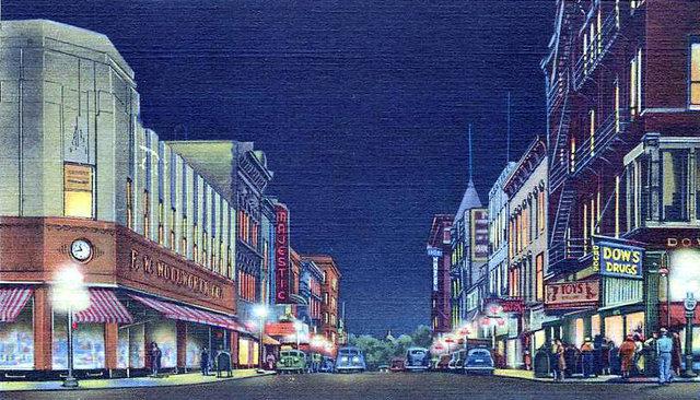 MAJESTIC Theatre; Springfield, Ohio.