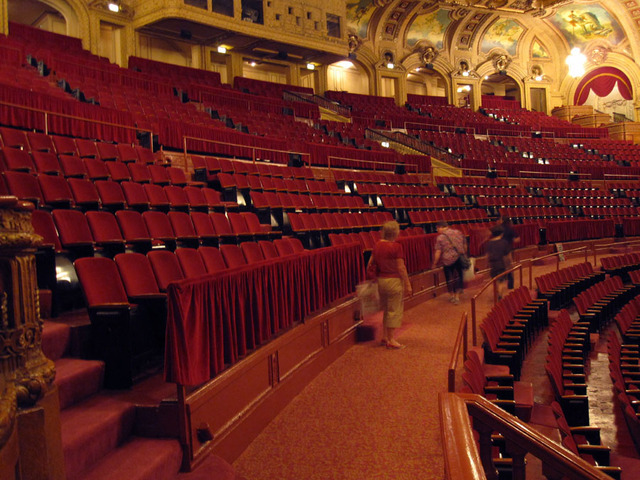 Chicago Theatre - Balcony