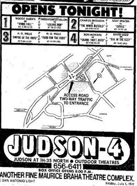 Judson 4 Drive-In