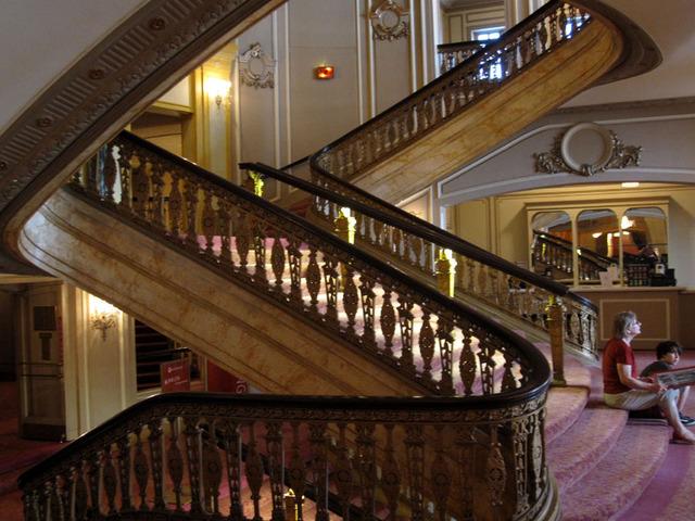 Chicago Theatre - Grand Staircase - Loge Level