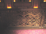 Chicago Theatre - railing overlooking the grand lobby