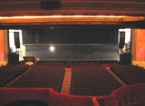 Chicago Theatre - Stage from Loge Level