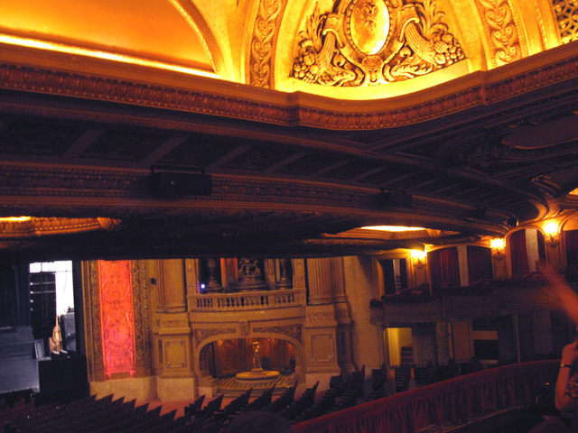 Chicago Theatre - Auditorium from Loge Level