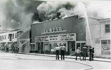 LA MESA THEATER DESTROYED BY FIRE