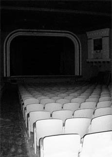 Interior of Dark Lompoc Theater