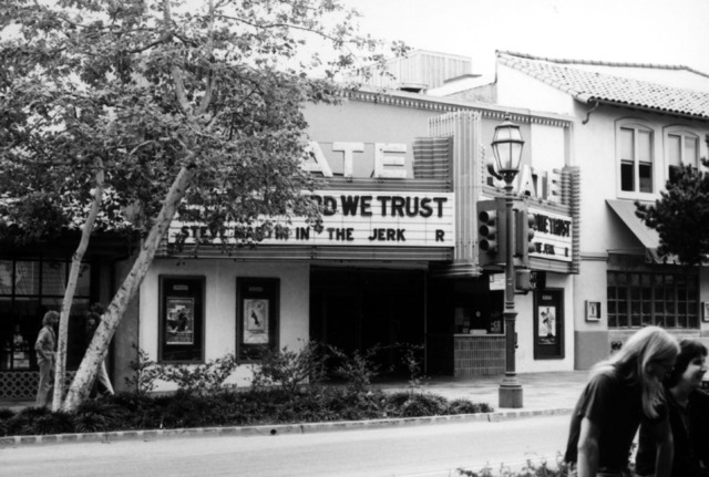 State Theater when it was open