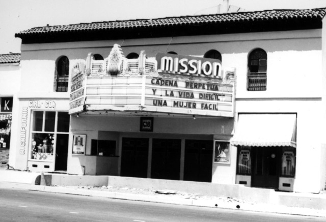 The Metro Four was originally called The Mission Theater