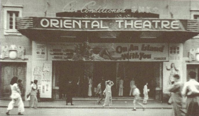 Oriental Theatre in the 1950s'