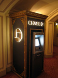 Chicago Theatre - ornate ATM station