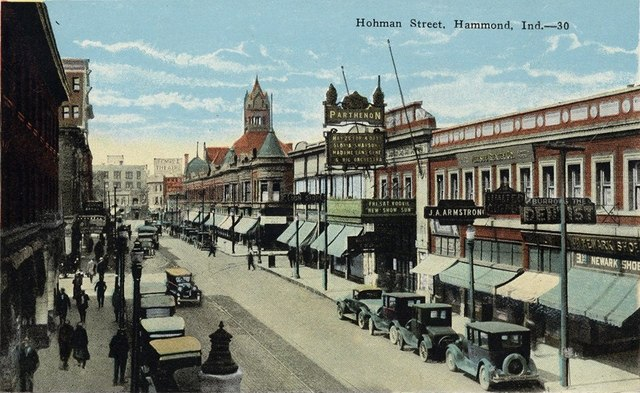 1925 postcar courtesy of Planet Hammond Facebook page.