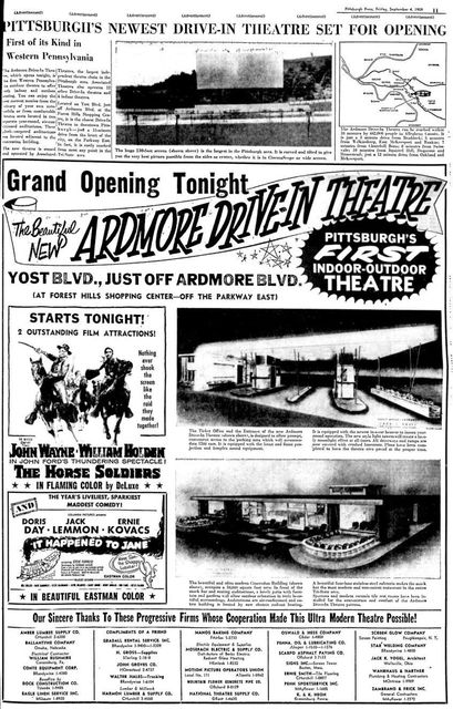 September 4th, 1959 grand opening ad